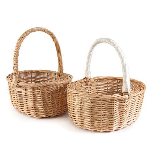 deep oval baskets