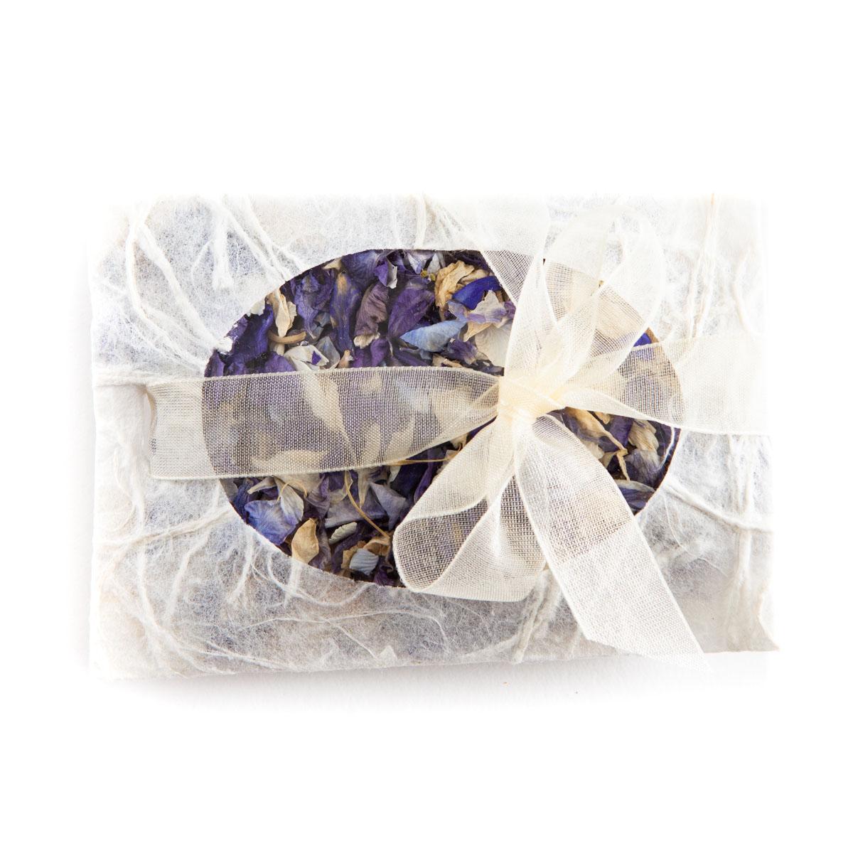 Biodegradable Confetti - Violet Mix Delphiniums - Petal Envelope