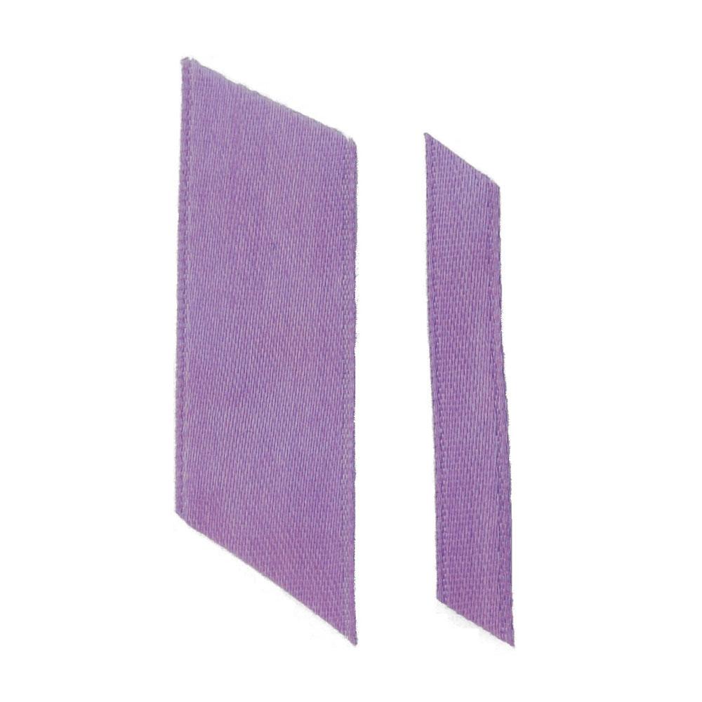 dark lilac ribbons wedding ribbon real flower petal confetti company