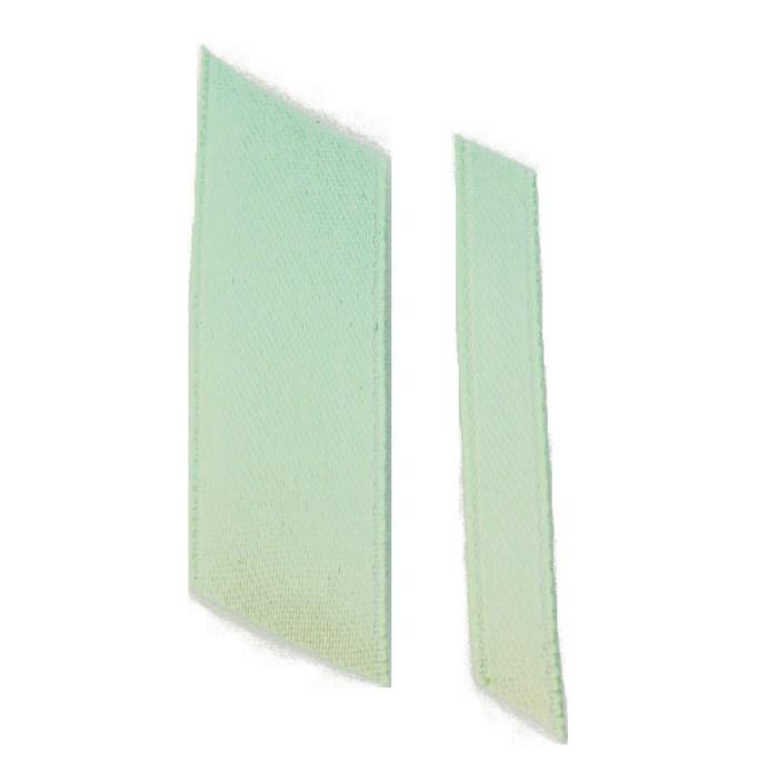 mint green ribbons wedding ribbon real flower petal confetti company