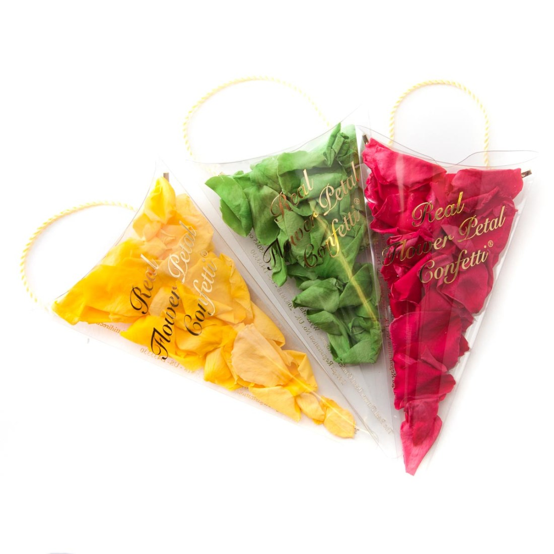 Confetti Moment - Coloured Rose Petal Sachets