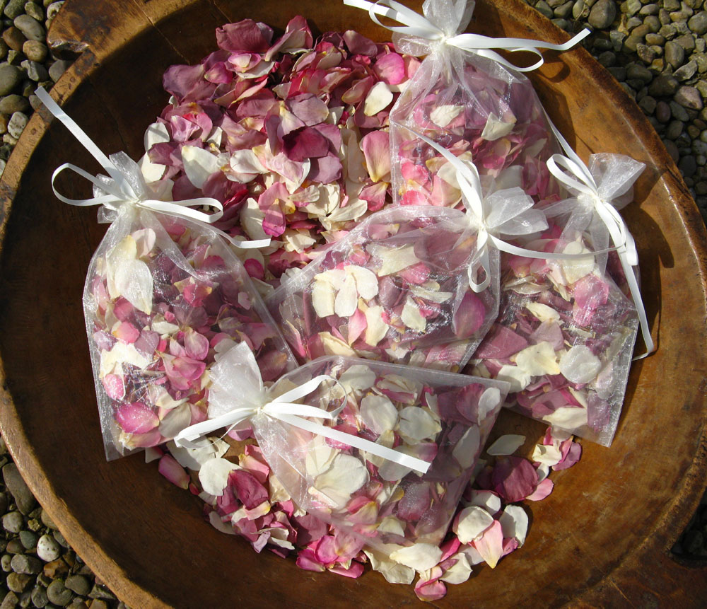 Petal Confetti - Small Natural Rose Petals