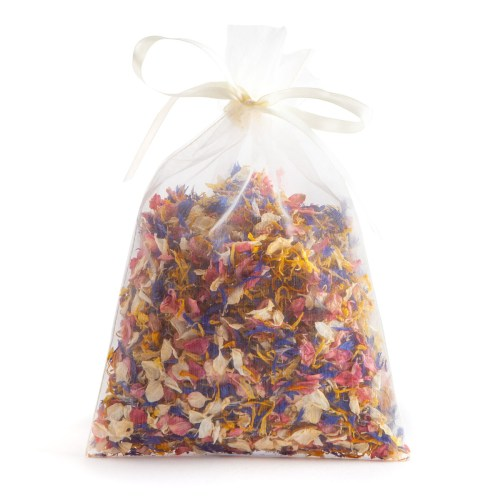 Sunshine Twist - 10 Handful Bag - Biodegradable Confetti - Real Flower Petal Confetti