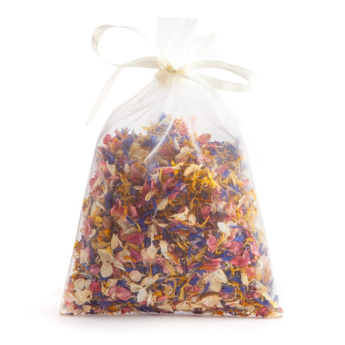 Sunshine Twist - 10 Handful Bag - Biodegradable Confetti - Real Flower Petal Confetti