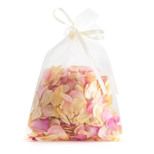 Soft Pink Rose Petals - 10 Handful Bag - Biodegradable Rose Petal Confetti - Real Flower Petal Confetti
