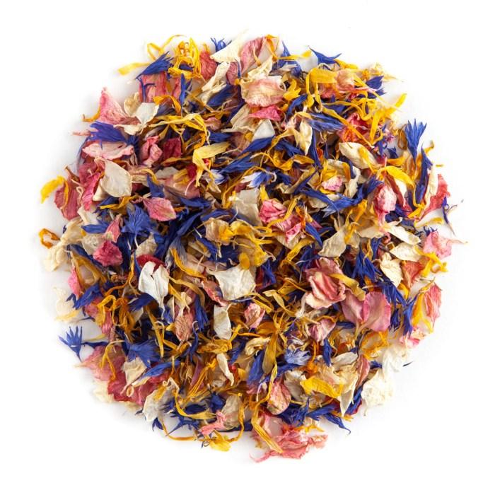 Sunshine Twist confetti petals - Biodegradable Confetti - Real Flower Petal Confetti