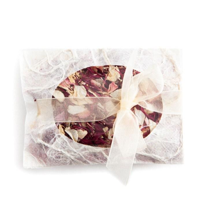 Ruby Twist confetti petals - Biodegradable Confetti - Real Flower Petal Confetti - Envelope