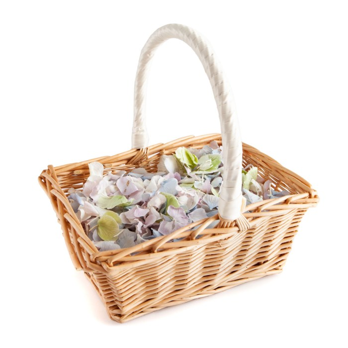 Basket Hydrangea Petal Confetti