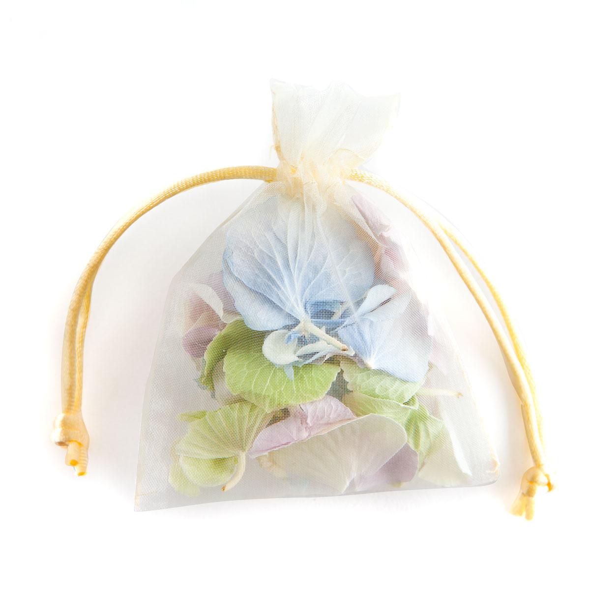Petal Bag of Hydrangea Petal Confetti