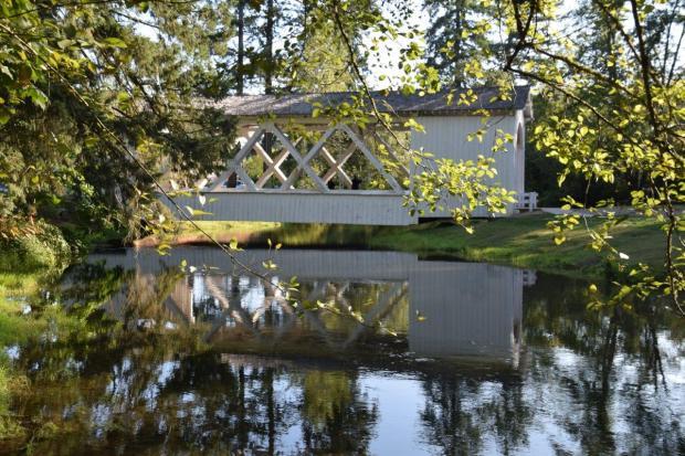 Stayton-Jordan covered bridge