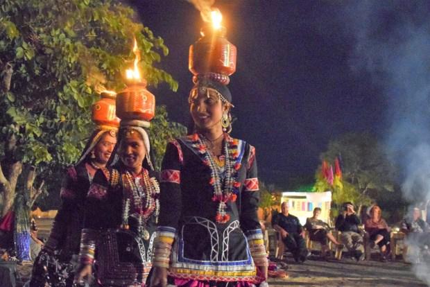 visiting Pushkar fair dancers