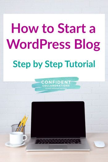 Starting a blog doesn't have to be overwhelming. Here's a simple step by step tutorial on how to start a wordpress blog with bluehost!