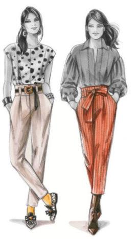 Supplément 319 / Modèles 204 & 205 Pantalon