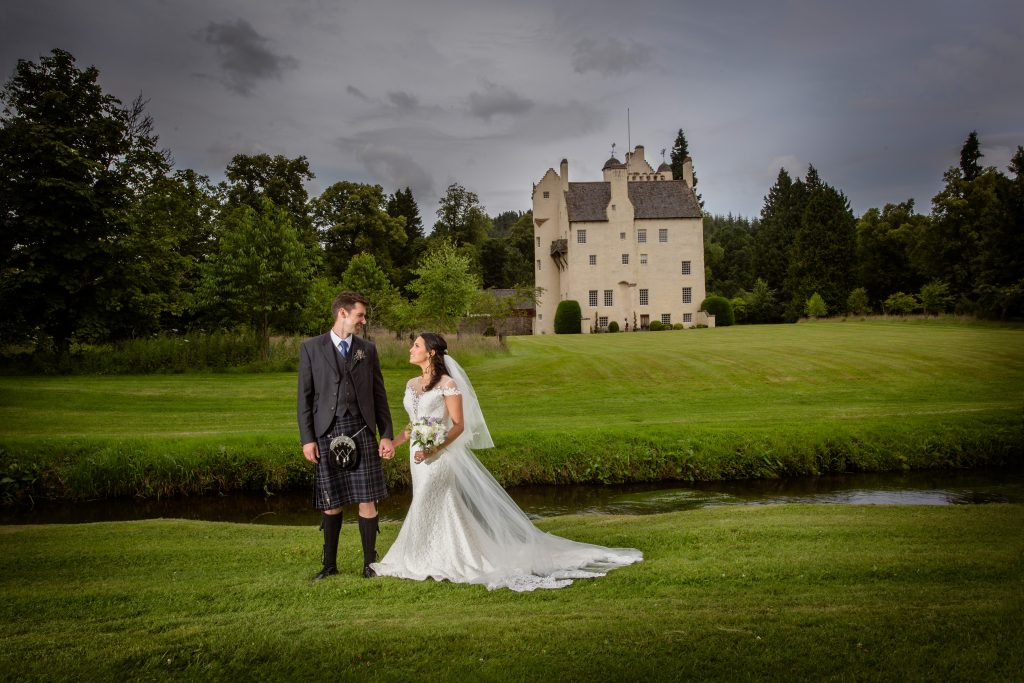 Scottish Wedding Coo cathedral