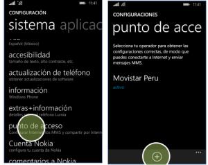 configurar apn movistar peru windows phone 8