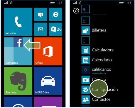como configurar apn entel peru windows phone nokia 520