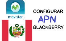 como configurar apn movistar blackberry 2017