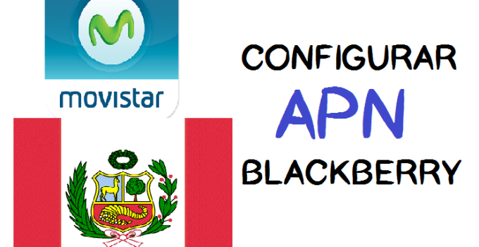 como configurar apn movistar blackberry 2017