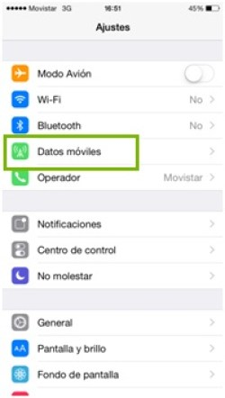 configurar apn movistar argentina iphone 4