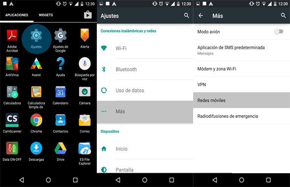 guia para configurar apn movistar ecuador android