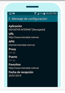 tutorial configurar apn movistar ecuador en android