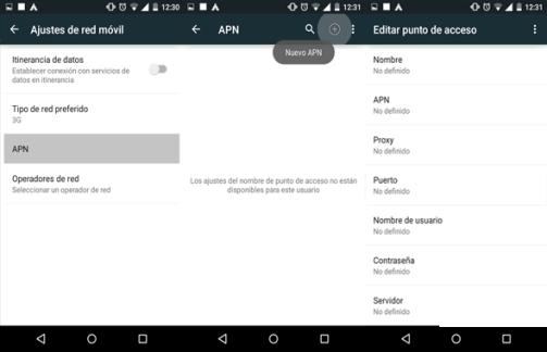 como reparar configurar apn claro y movistar nicaragua en android