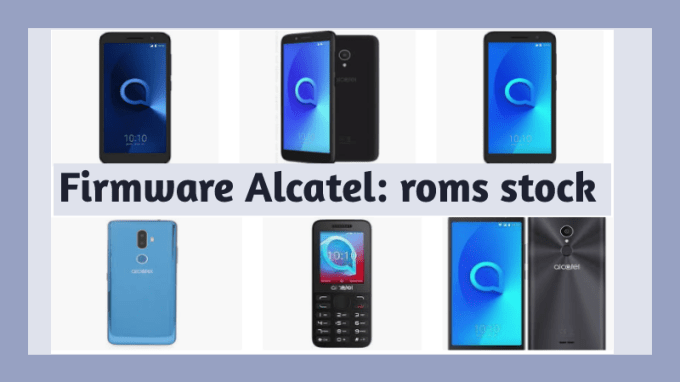 descargar firmware alcatel rom stock