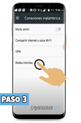 redes moviles android crear apn 4g lte
