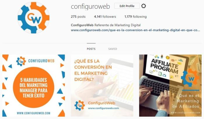 Instagram ConfiguroWeb