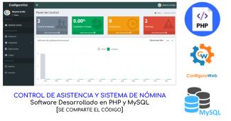 Control de Asistencia y Sistema de Nomina