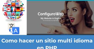 Como hacer un sitio multi idioma