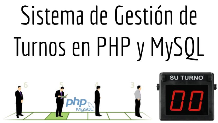 Sistema de Gestión de Turnos en PHP y MySQL