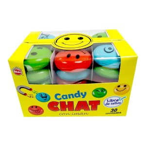 Caramelo Candy Chat display 30 unidades