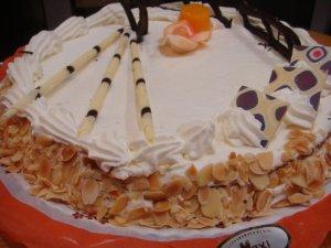 Tarta de Nata y Almendra