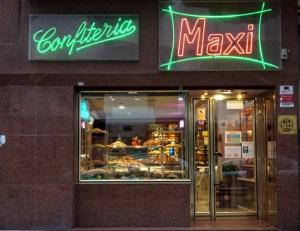 Tienda en pastelería Maxi