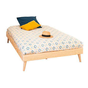 lit enfant naturel 120x190 cm conforama