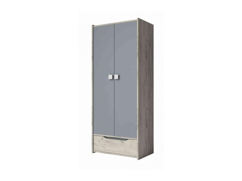 portes 1 tiroir en bois imitation