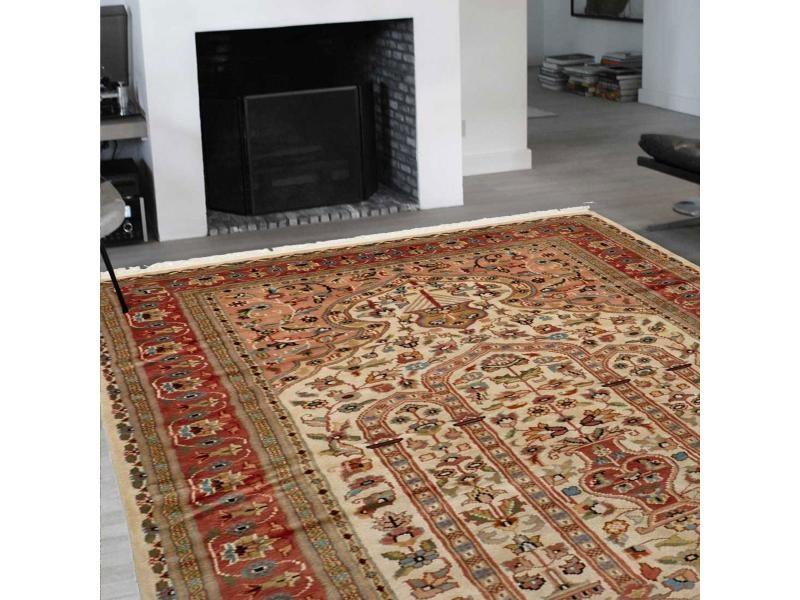 authentique tapis d orient entierement