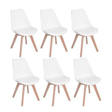 chaises westerland bois massif blanc