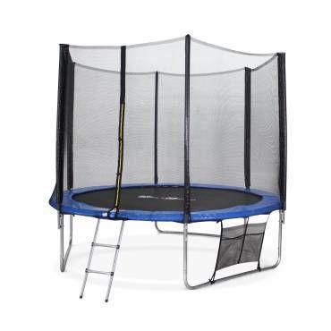 trampoline et structure gonflable pas