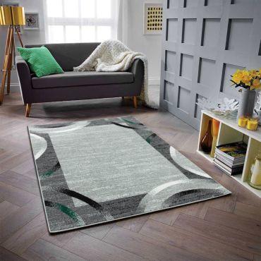 tapis salon et chambre vert conforama