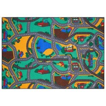 tapis enfant multicolore conforama