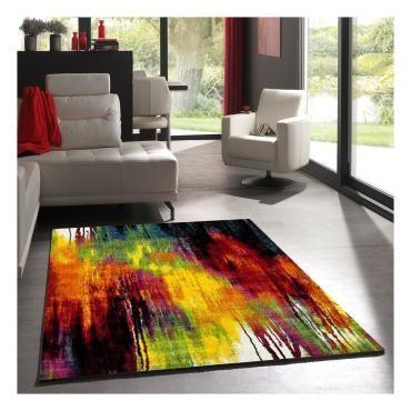 tapis 200x300 cm mila coloris rouge