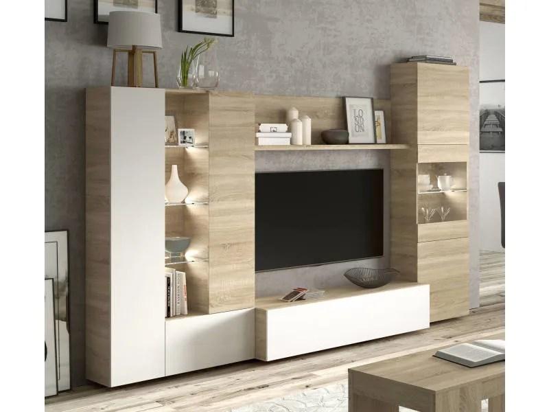 mobilier de salon modulable compose d