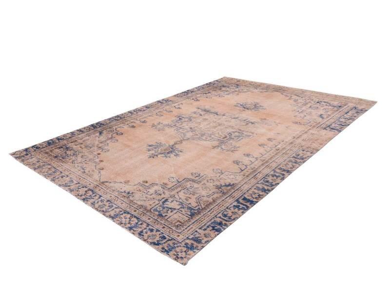 bobochic tapis yael bleu 140cm x 200cm