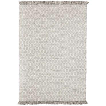 tapis 120 cm 170 cm nordi hexagone