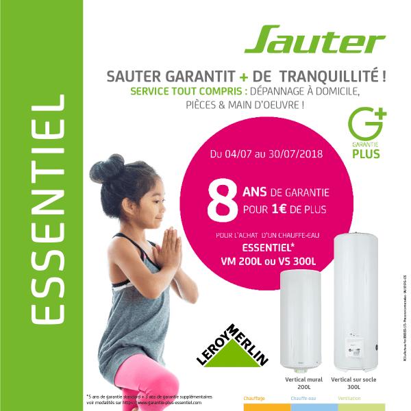 8 Ans De Garantie A 1euro Pour L Achat D Un Chauffe Eau Electrique Essentiel