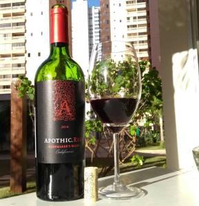 Apothic Red Winemakers Blend 2014 – Avaliação de vinho Zinfandel, Syrah, Cabernet Sauvignon, Merlot