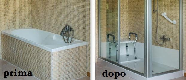 trasformazione vasca in doccia1
