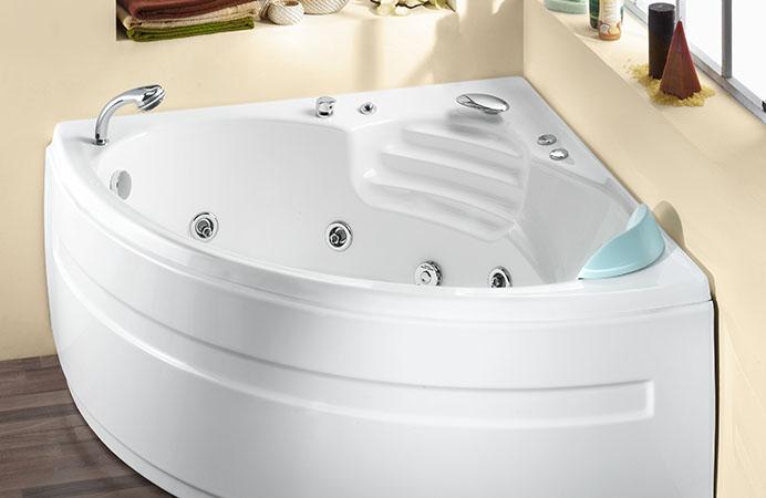 Vasca angolare dimensioni vasca bagno idromassaggio ad angolo cm